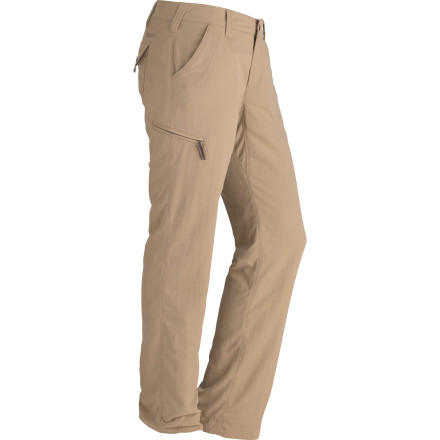 Whether you plan to trek through a frosty meadow or you just want to get downtown without the chills, the Marmot Women's Piper Flannel-Lined Pant can provide the durable, everyday warmth your goose-bumped legs desire. Tough nylon on the outside resists brush-filled hikes, and the polyester flannel lining holds in your body heat without making you clammy and uncomfortable during hikes or walks. - $47.48