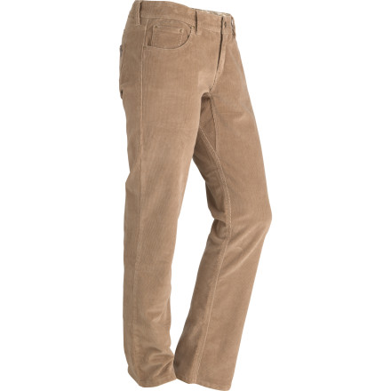 Head out for your walk through the woods or stroll through town dressed in the Marmot Women's Ashley Cord Pant.  Marmot put a few twists on this casual classic, adding a touch of stretch and an enzyme wash to the fabric. - $42.87