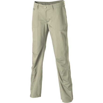 Light and low: that's how the Patagonia Women's Desert Twill Pants roll. Consider these smooth little beauties as your go-to threads on those days when denim just doesn't seem to cut it. Whether you're traveling, kicking back in a friends' hammock, or hopping around overseas from bar to bar, these slim-fitting, organic-cotton pants keep your body, mind, and spirit relaxed and cool. - $20.70