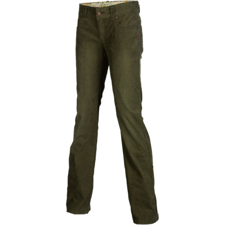 Add the prAna Women's Canyon Pant to your wardrobe for a fun and stylish go-to bottom. This classic five-pocket pant features a touch of spandex so an impromptu bouldering session doesn't rip your drawers. - $39.48