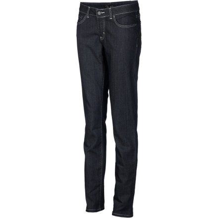 Whether you're window-shopping Main Street or exploring in the woods campsite, the prAna Women's Kara Denim Pants will keep you feeling great and looking pretty darn good too. The easy-going, casual style is versatile and fun while the smart mix of materials gives these jeans the versatility of performance wear. - $74.95