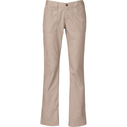 The North Face may be best known for technical outerwear for active pursuits, but with the Lupine Bootcut Pant it proves that it knows what you like when it's time to kick back, relax, and do absolutely nothing. The Lupine's lightweight cotton and relaxed style make it easy for you to take down the intensity a couple of notches and mellow out. - $69.95