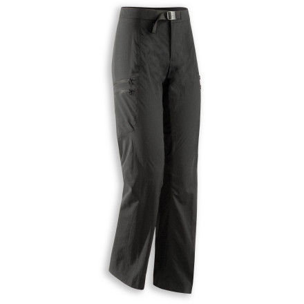 Camp and Hike From ancient city sights to vertical hiking trails, the lightweight Arc'teryx Women's Palisade Pant moves with your legs and won't weight you down whether you ascend steep mountain trails or thousands of steeple steps at Notre Dame. - $138.95