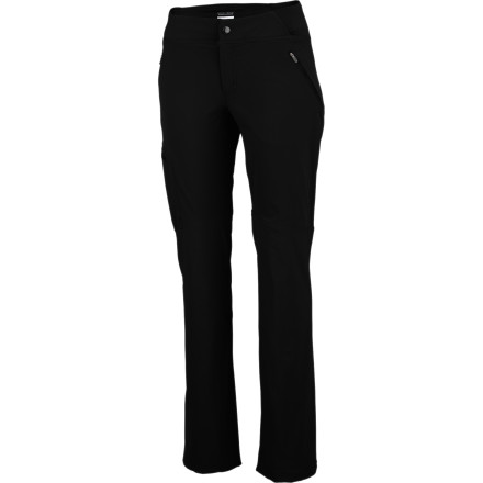 Camp and Hike Wear the Columbia Women's Back Up Passo Alto Straight Leg Pants on advanced hikes when you need pants that can keep up. Pro-movement design and flexible fabrics won't make you feel like you're fighting against your clothing, and high-tech features protect you from the sun and manage sweat to keep you cool. - $34.98