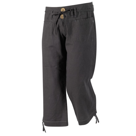 Climbing The last thing you want while tackling a vertical project is bunched, uncomfortable pants or shorts, which is why Millet made the Women's Hemp 3/4 Pant. Thanks to a comfortable and eco-conscious design, you can play in the outdoors while showing it some respect. - $32.45