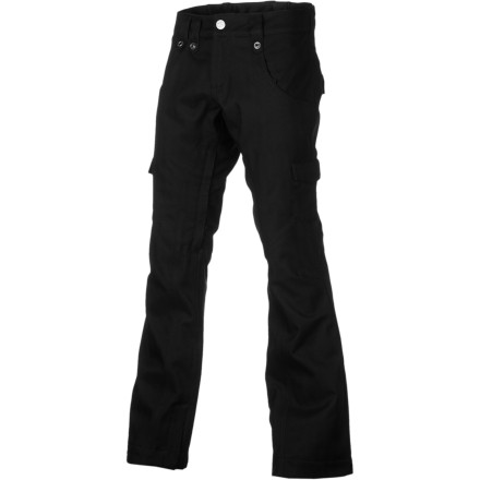 Snowboard Bonfire loaded the Women's Heavenly Solid Pants with pretty much every luxury known to the world of snowboarding. From the weather-blocking fabrics to the smart venting system, these pants will keep your legs happy in a big range of conditions from the park to the sidecountry. - $101.97