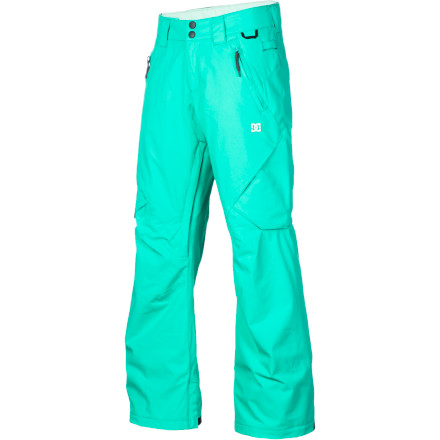 Snowboard Your goal: to ride the mountain with your friends, break your comfort zone, and hopefully find some powder. The DC Womens Ace Insulated Pant's goal: to offer adequate waterproofing, warmth, and breathabilityoh, and styleso you can worry about accomplishing your goal and not worry about what your outerwear is up to. - $66.00