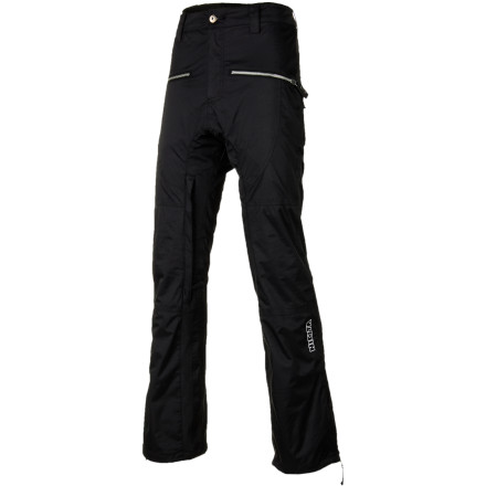Snowboard An ultra-modern cut and horizontal front pockets give the Nikita Women's Penrose Pants a totally unique look that is creative, fresh, and fashionable. These shred-ready bottoms will keep you dry during laid-back play sessions in the park while they keep your bottom half looking hot. - $94.48