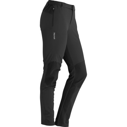 Set your sights on every monolith, crack, and trail in the universe and conquer them in comfort with the aid of the incredibly breathable and stretchy Marmot Women's Orion Softshell Pant. - $144.95