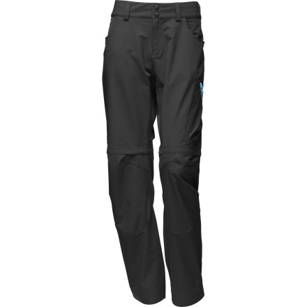 The Norrna Women's Bitihorn Flex 1 Zip-Off Pant is flexible in every sense of the word. In addition to its comfortable, stretchy material, the pant can be converted to shorts to offer maximum versatility in changeable mountain environments. - $185.90