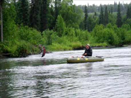 Flyfishing Water Master in Alaska