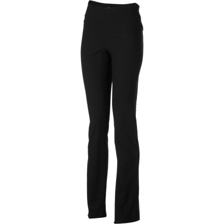 Fitness When you feel your blood pressure rising, toss on the Horny Toad Women's Flexure Yoga Pant, block out all of your worries, and just focus on your breathing and your yoga pose. Before you know it, you'll begin to relax with the help of this organic cotton and spandex blend pant with narrow, boot-cut legs. Thanks to its wide elastic waistband, the Flexure stays in place so you can pay attention to what's happening now, instead of wondering if your pants are going to ride up or slip down. - $44.17