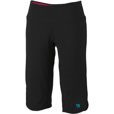 Fitness You might find your downward dog getting a little deeper when you have the Mountain Hardwear Women's High Step Judo Pants on your legs. These movement-ready capris free your body to stretch, reach, and get low. - $27.48