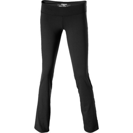 Fitness Slip into the Patagonia Women's Liana Tights when you're craving one of those cleansing sweats that only come during an intense yoga class or hardcore workout. These tights use performance-grade materials to manage moisture and keep you comfortable so you can push past your limits. - $39.50