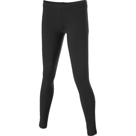 Fitness Get ready for your next yoga session with the prAna Ashley Legging. The elastic waistband, body conscious fit, and nylon mixed with lycra spandex fabric ensures that you can get deeper into every pose without restriction. - $64.95