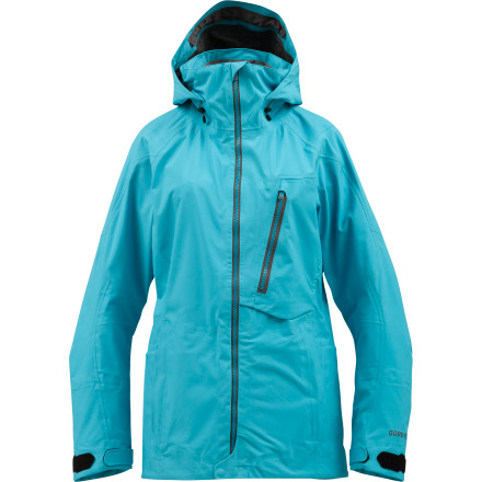 Snowboard Premium weather-defeating Gore-Tex 3L Softshell technology and simple but solid looks make the Burton Women's AK Haven Softshell Jacket an innovative piece for the high altitudes with a style that's suitable for the street. - $207.98