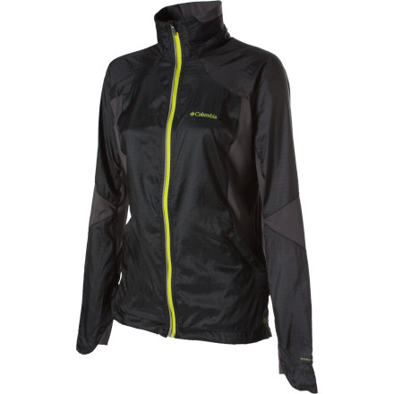 The Columbia Women's Power Paces Softshell Jacket combines clean style and technologically advanced materials to keep you covered on hot days. Wear this jacket when you want to stay cool but you don't want to leave your skin exposed to the sun. - $39.98