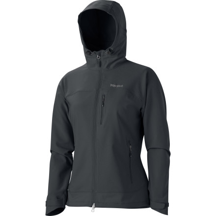 Climbing Built to help you regulate body heat and keep you comfortable while you hike, climb, or skin your way to the top, the Marmot Women's Tempo Hooded Softshell Jacket is a perfect companion for milder days when your need for breathability is paramount. - $134.95
