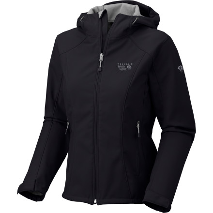 Ski One of the reasons behind the boom in popularity of softshell jackets has been their extreme versatility, and the Mountain Hardwear Women's Principia Softshell Jacket is no exception. Wind-resistant, breathable and quiet, the Principia delivers wearable warmth and protection on your next hike, cross-country ski, or snowshoeing expedition. - $115.46