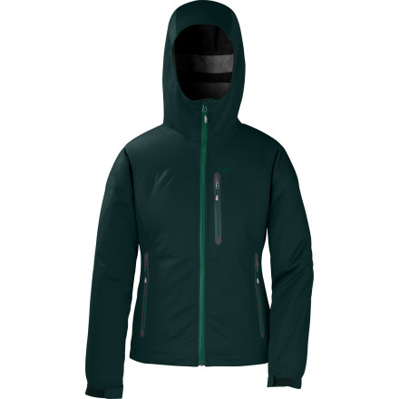 Bring the Outdoor Research Women's Mithrilite Jacket along to keep nasty weather from blowing your next backcountry excursion. This waterproof, highly breathable jacket takes the edge off chilly days while allowing water vapor to escape to prevent that clammy feeling. - $109.42