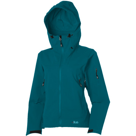 Because conditions change quickly, you should be ready to change quickly, too. We're talking about changing your approach to winter outerwear with the Rab Women's Exodus Jacket; this water-resistant softshell jacket features stretchy fabric for serious mobility and a touch of insulation to hold off the chills. - $36.99