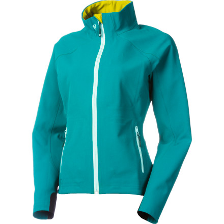 Let the soft lining and ample warmth of the Stoic Women's Monolith Softshell Jacket ease you into chilly mornings on the trail, at the mountain, or around town. Monolith softshell fabric is a like a little slice of paradise; it insulates against the cold while tempering this warmth with supreme breathability so you feel comfortable, not stifled, when you're really moving. A high collar protects your neck when a cold wind kicks up, and the moment you reach down to grab your pack and discover the unrestricted freedom of the 3-D Ergonomic fit, you'll fall further in love with this jacket. - $99.50