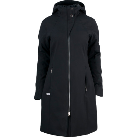 Combat windy, frigid city weather with the Spyder Women's Central Parka Softshell Jacket. A below-hip length makes frozen benches bearable, while the Central's PrimaLoft Infinity insulation and windproof softshell fabric keeps the bite of winter at bay. - $136.92