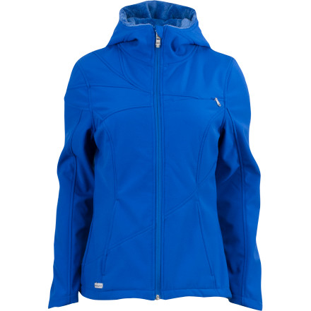 Skateboard Roll in style this winter with the Spyder Women's Arc Hooded Softshell Jacket. The Arc features stretchy material and an active fit so you have the freedom to move while you ice skate or snowshoe, and its Spylon+ DWR coating provides light weather protection in case small flakes begin to fall. - $81.92