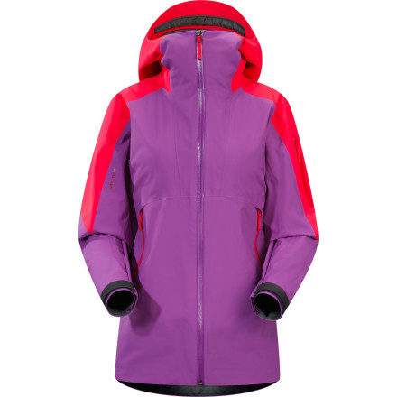 Ski Arc'teryx somehow managed to pull off a sleight of hand when it created the Women's Sentinel Jacket; under this jacket's sleek exterior, you'll find plenty of room for as many layers as you need to stay outdoors all day. But do not allow this jacket's supple feel and flattering looks to deceive you; under the hood (so to speak) you'll find storm-proof Gore-Tex technology that will keep you bagging first tracks until the mountain shuts down. - $384.97