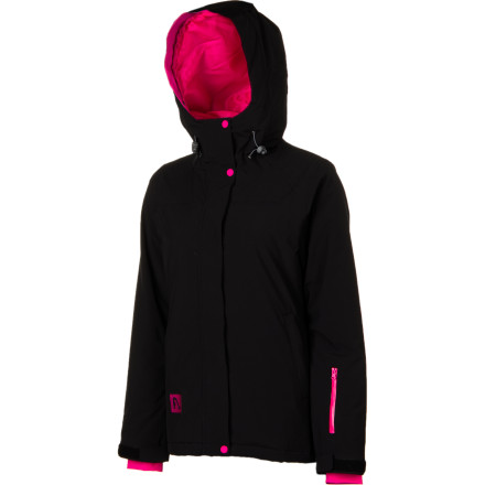 Ski When the temps plummet or you hit the high-altitude freeze, slap on the FlyLow Women's Dolce Vita Jacket, filled with body-warming micropuff synthetic down. Lofty and light, this insulation won't bloat you up like a mountain marshmallow. And its synthetic material won't compress, either, into icy clumps. With a powder skirt, underarm vents, and water-repellent membrane, this is the any-day, all-season jacket. And since you won't be a wide-load puffy, you'll have room to stuff the junk-trunk pockets with snacks so you never have to come in from the horrible weather. - $202.97