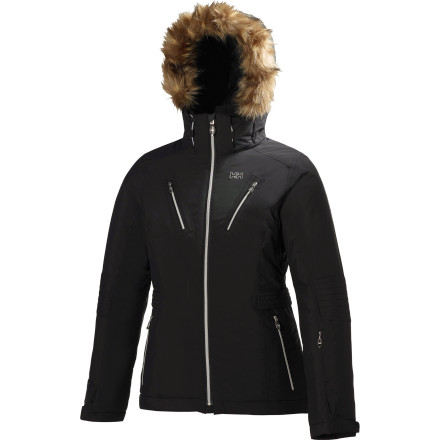 Ski Move over, boxy, high-tech ski wear; the sleek and stylish Helly Hansen Women's Eclipse Jacket is here to simultaneously shred and turn heads. Featuring bomber weather protection, feminine fit, and faux fur, the Eclipse also has PrimaLoft insulation to keep you comfy-cozy as you do your thing and the temps plummet. See' You can have it all. - $314.97