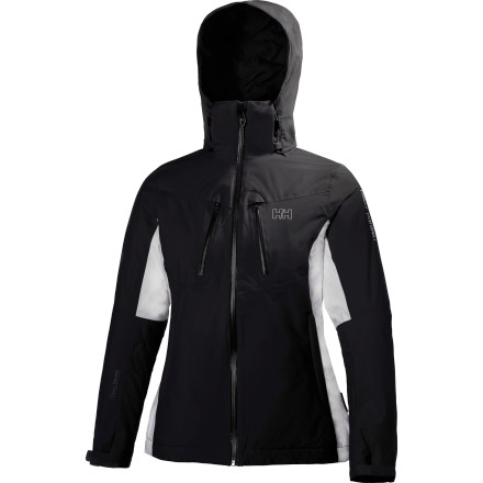 Ski Give yourself a timeless winter look with the Helly Hansen Women's Velocity Jacket. This classic-style jacket features a regular fit, waterproof breathable fabric, fully taped seams, and WarmCore insulation so you stay comfortable while you explore the mountain. - $195.97