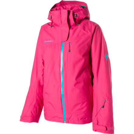 Ski The sharp Mammut Womens Robella Jacket is a tough-as-nails jacket packed with features thatll draw plenty of compliments in the lift line. You wont even have to worry about the wind nipping through when you race down the slopes, thanks to its windproof fabric. - $191.92