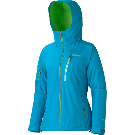 Ski With every possible feature you could hope to have in a ski jacket, the Marmot Women's Freerider Jacket keeps you out on the hill from the first tram of the day to the last set of crud-busting turns. The Gore-Tex shell, fully taped seams, and water-resistant zippers allow you to dominate in wet conditions while the removable powder skirt and adjustable cuffs eliminate any chance of snow finding a way inside. - $247.47