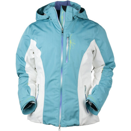 Ski Waterproof, super-breathable protection and toasty insulation in a flattering silhouette give the Obermeyer Women's Cordillera Jacket all you need for ripping fun on a frigid day. It's sealed up with fully taped seams and water-resistant zippers in addition to its powder skirt and hood, so you have nothing to fret about when the sky darkens and it starts to dump. And when the sun does come out, simply remove the hood and open the vents. - $314.97