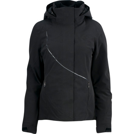 Ski Pull on the Spyder Women's Tresh Jacket, grab your ski gear, and hurry out the door to make first chair. Thanks to this stylish jacket's 20K-rated Xt.L membrane, fully taped seams, and cozy insulation, you stay dry and warm while you float down powder fields. - $262.47
