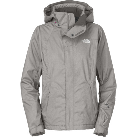 Ski Staying warm this winter doesn't necessarily mean looking like you have inner tubes jammed into your jacket. The North Face Rikie Jacket provides plenty of Heatseeker synthetic insulation in a slim, women-specific fit that flatters rather than insults. - $195.97