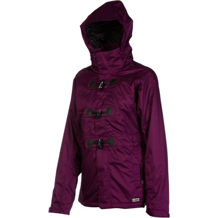 Ski The North Face outfitted the Women's Ginger Delux Jacket with enough weatherproofing to survive a blizzard, enough styling to separate you from the tourists, and enough bells and whistles to satisfy even your small-detail needs. Inspired by The North Face's team of freeride athletes, this little number easily transitions between charging off the tram and heading out for a night on the town. - $244.27