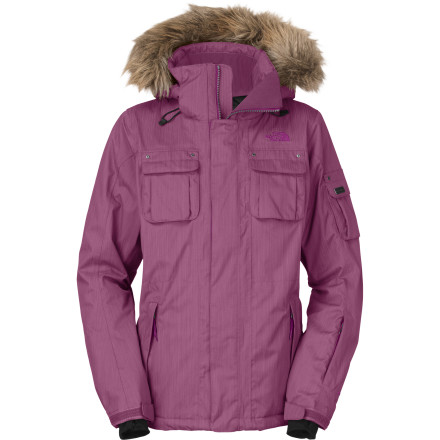 Ski The North Face Women's Baker Delux Jacket shows you that you don't have to dress like a rugged mountain woman to stay comfortable and warm this winter on the slopes. Instead you can look like one foxy lady and still be protected from the elements and able to keep up with the pros. - $164.42