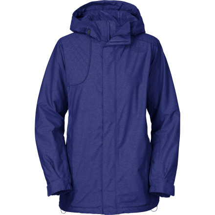 Ski Equipped with The North Face Women's Stanyan Jacket, you have nothing to fear except for a winter that doesn't deliver a gazillion fluffy-flake snowstorms. This waterproof breathable jacket features smooth style, Heatseeker insulation, and core zip vents for your pow hunts. - $174.27