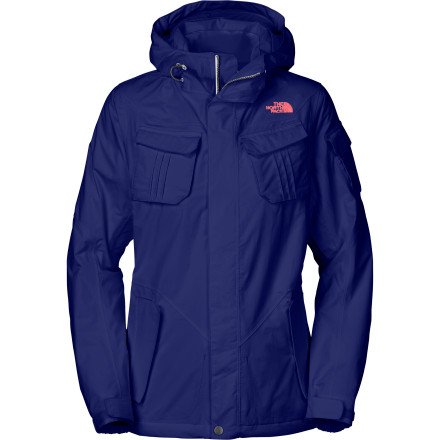 Ski When the powder is prime, grab The North Face Women's Decagon Jacket and head for the hill. This performance jacket keeps sheds wet weather and traps in heat with straightforward style so you can bag runs all day without feeling the chill ... even if you do feel a little guilty for calling in sick. - $142.97