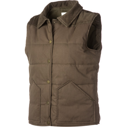 Whether you live in the mountains, by the beach, or in a van by the river, keep warm in casual style with the Lifetime Women's Valley Vest. - $35.18