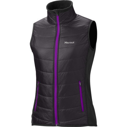 Climbing The Women's Variant Vest weighs under eight ounces and packs into its own pocket for easy storage so you can wear this vest during winter trail runs or stash it in your fall backpacking pack. Thermal R Eco insulation keeps your core warm and the athletic fit means that this vest sits close to your body so you can move easily while you ski, hike, climb, or run. - $76.97