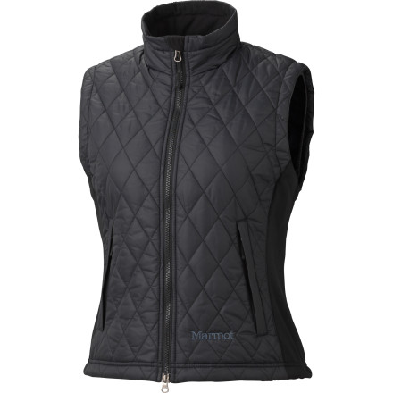 Ski On frigid ski days, the Marmot Kitzbuhel Insulated Vest provides essential insulation, and in mild weather its stylish aesthetic will make you forget it's so practical. - $69.97