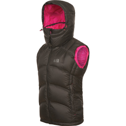 Ski Down is essential for staying warm in the winter, but big puffy sleeves can get in the way when you're swinging ice tools or pushing off on cross country skis. Zip up the Millet Women's Xanadu Vest and you can keep your core toasty warm with 650-fill down insulation while your arms remain free for total ease of movement. The zip-off hood provides some additional protection for when the wind picks up and the snow starts to fall. - $122.82