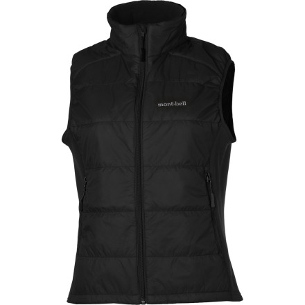 Camp and Hike At just 5.2-ounces light, the Montbell Women's Ultralight Thermawrap Insulated vest allows you to carry cold-weather core insulation without a weight penalty that would slow your ascent into the mountains. Climbing, paddling, or hiking the weather can turn cold and wet quick, so Montbell gave this vest a DWR-coating to repel light precipitation, and they used synthetic Exceloft insulation that retains its warmth even when wet. Find one reason not to carry this vest in your wilderness pack and we'll find three reasons why you should. - $119.00