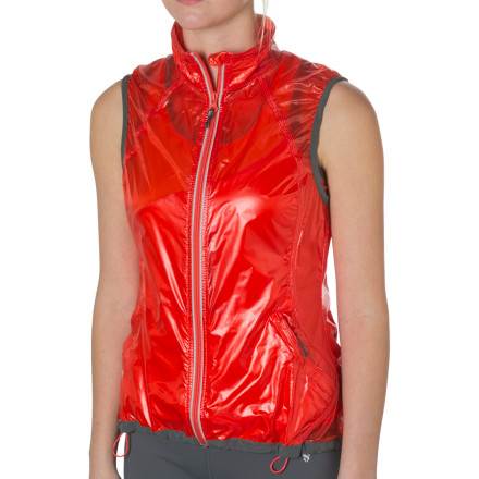 Ski You know how it goes: when you step out of the car at the trailhead parking lot you're cold so you layer up, but by a mile or two into your run you're sweating like crazy. Head off this problem by dressing in the Stoic Women's Thrive Luminous Vest from the start. It blocks wind and light precipitation to provide vital core warmth, but is so lightweight and breathable you might forget it's there as you start to warm up. Wear it over a tee on cool summer morning runs or under your favorite fleece to boost its warmth on an afternoon skate ski. - $29.50