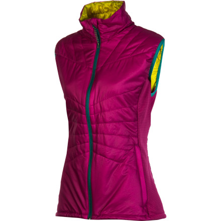 Camp and Hike This season, Stoic expanded its women's line with the Luft 60 Vest, an ideal solution to keep your core warm while you're backcountry skiing in the winter or hiking in the fall. Low-bulk synthetic insulation compresses easily to make the Luft easy to stash in a pack, and this vest feels nice and light so you'll hardly notice any extra weight on your back. Sometimes sleeves are overkill, even in cold weather, and that's when this layering piece shines. - $119.00