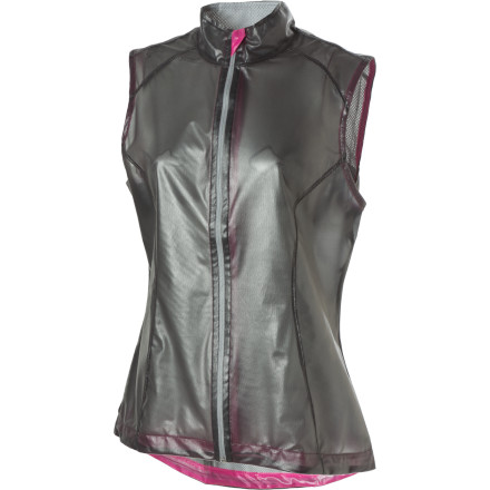 The Skirt Sports Breaker Vest may be so thin and light it's translucent, but you can still count on it for protection against the elements during runs in damp, blustery weather. - $49.98
