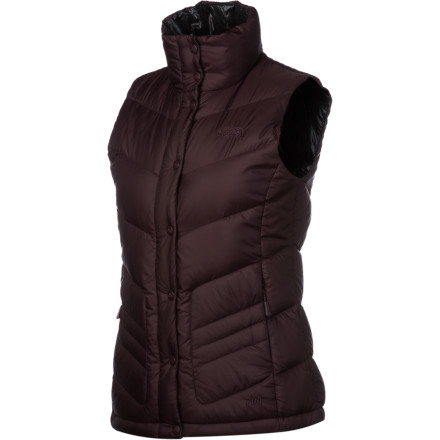 Entertainment Few pieces in your fall and winter wardrobe are as versatile and practical as a down vest. The North Face Women's Carmel Down Vest is no exception; throw it on over a flannel shirt for light protection during fall outings or layer it under a shell for super core warmth in extreme cold. The vest's 700-fill down and light weight make it extra warm and wearable. - $89.37